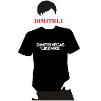 Playera Dj Dimitri Vegas & Like Mike Hombre Niño Dama 4 X 5