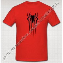 Playera Spiderman Hombre Araña Amazing Spiderman Qlnh