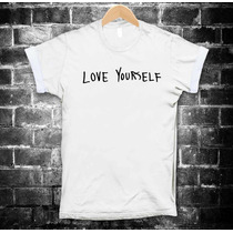Justin Bieber Playeras Love Yourself Camiseta Tallas Hombre