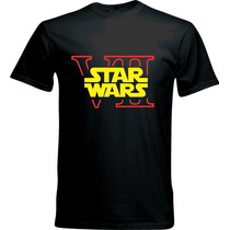 Playera Star Wars Darth Vader Luke Skywalker Jedi
