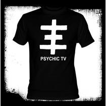 Psychic Tv - Logo Camiseta Genesis P-orridge Throbbing Grist
