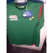 Mexico 86 Mundial Playera Futbol Retro Fifa Liga Mx Pique