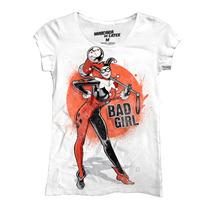 Playera Batman Bad Girl Mujer De Mascara De Latex