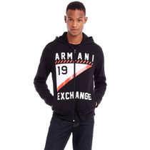 Hoodie Armani Exchange Ax Talla M Y L.