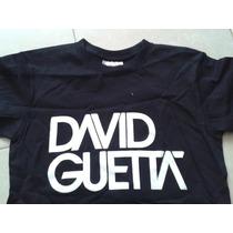 Playera David Guetta 100% Algodon Doble Esta Nueva Concierto