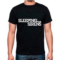 Playera Sleeping With Sirens Rock Mas Promos Envio Gratis