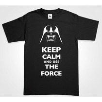 Playera Star Wars Darth Vader Luke Skywalker Jedi Keep Calm