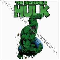 Playera The Incredible Hulk Blanca Playeras Hulk Dbme