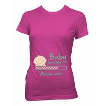 Playera Embarazada Maternidad Bebes Baby Shower Regalos