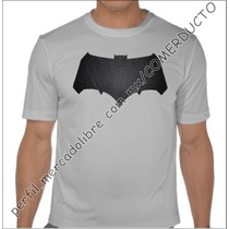 Playera Batman V Superman Dawn Of Justice Plata Ec Wnuf