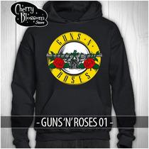 Promocion Sudaderas Guns N Roses Logo Tour Mexico 2016 Axl