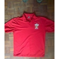 Playera Camisa Polo Rugby Heritage Gales Large