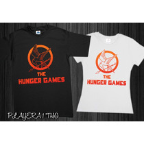 Playeras The Hunger Games Catching Fire Juegos Del Hambre