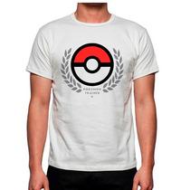 Playera Pokemon Trainer Mas Modelos Catalogo