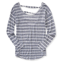 Aeropostale De Las Mujeres Sandalia Espalda Gráfico T-camisa