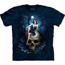 Playera 4d - Unisex -- 3329 Skull Fairy