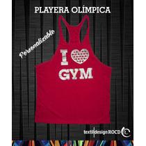 Playera Olímpica Para Gym
