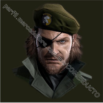 Playera Metal Gear Snake Peace Walker Snake Guevara Boina