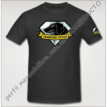 Playera Metal Gear Diamond Dogs Playera Diamond Dogs Tgdi