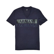 Playera Armani Exchange A | X Slim Fit Double Print Logo M