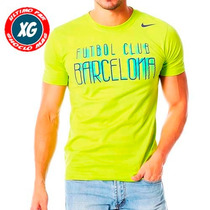 Nike Fc Barcelona Core Tee Talla Xg Nueva Rebajada Sh+