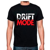 Playera Drift Mode Tuning Autos Muchos Modelos Mas