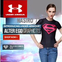 Under Armour Alter Ego Blusa Dama Superpink ,deportes/casual