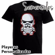 Playera Star Wars Varios Modelos.