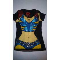 Blusas De Licra Wolverine Mujer