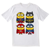 Camiseta Minion Hero Diseño Divertido == Krono Tek