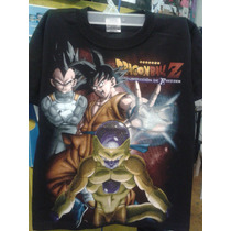 Playera Anime Niño De Dragon Ball La Resurreccion De Freezer