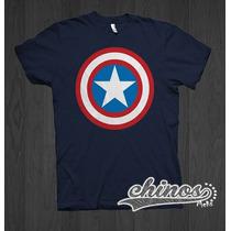 Playera Del Capitan America, Playeras De Super Heroes, Batma