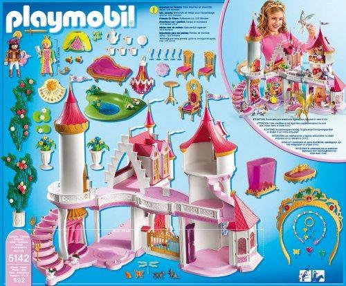 Playmobil 5142 Castillo De Princesas Hadas Disney Retromex ...
