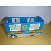 Vagon Circo Playmobil De Los 70 No Accesorios