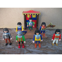 Tm.playmobil Lote De Fig. Mixtas -2