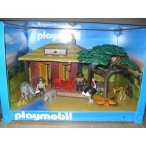 Playmobil 5907 Oambati Station Rangers House Para Decorar