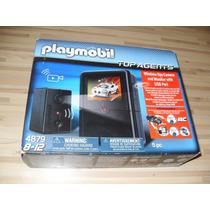 Playmobil 4879 Camara De Espionaje Y Monitor Con Puerto Usb