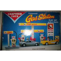 Gasolineria Tipo Playmobil / Estacion De Servicio