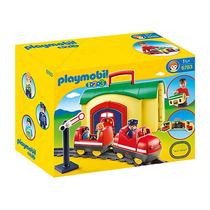 Playmobil 6783. Tren Maletín 1.2.3. Playmotiendita
