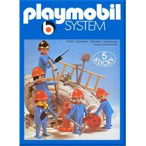 Playmobil 3234 Equipo De Boberos De 1985 Descontinuado Js!!!