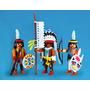 Playmobil Nativos Americanos Apaches Indios Oeste Retromex¡