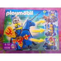 Playmobil Set De Guerrero Con Caballo Y Accesorios
