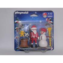 Playmobil Vintage Set Navideño Santa Claus Marca Geobra Nuev