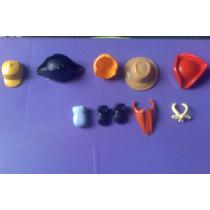 Playmobil Lote De Sombreros Y Accesorios