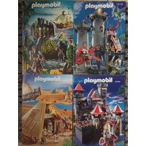 Lote Catálogos Playmobil 2012-2010-2009-2005