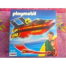Playmobil Set De Bote Portable