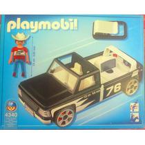 Playmobil Set De Camioneta Y Vaquero Portable