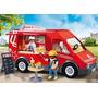 Playmobil 5632 Camion De Comida Fuente De Sodas Movil Ciudad