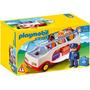 Oferta Playmobil 1-2-3 Set 6773 Autobus De Aeropuerto Nuevo
