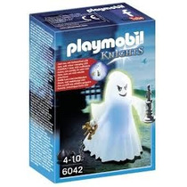 Playmobil 6042 Fantasma Medieval Con Luz Led Caballeros Js